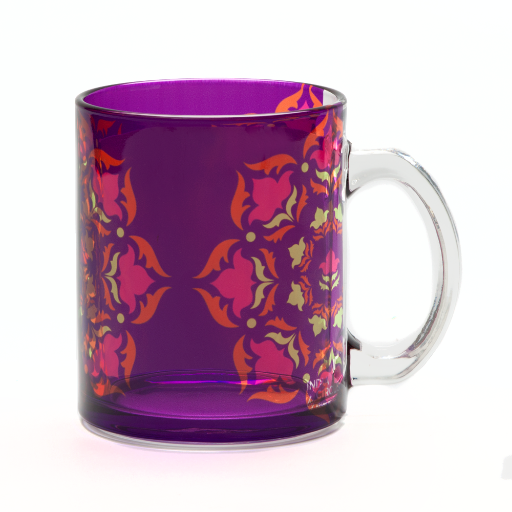 Mirror Prints Glass Mug
