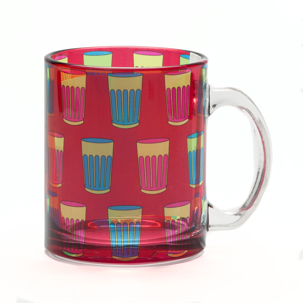 Cutting Chai Glass Mug