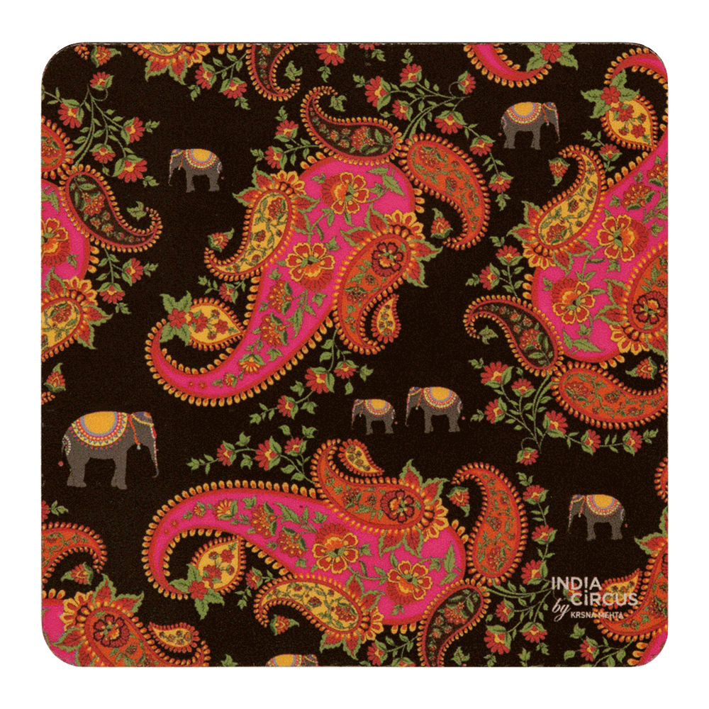 Paisley Pleasures Coasters - (Set of 6)