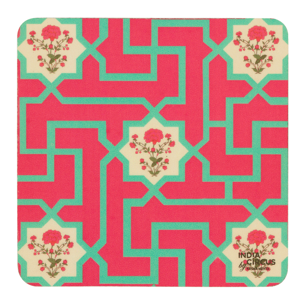 The Mysterious Flower Coasters - (Set of 6)