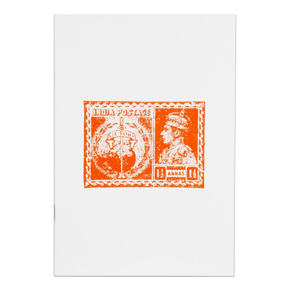 The Orange India Postage Notebook