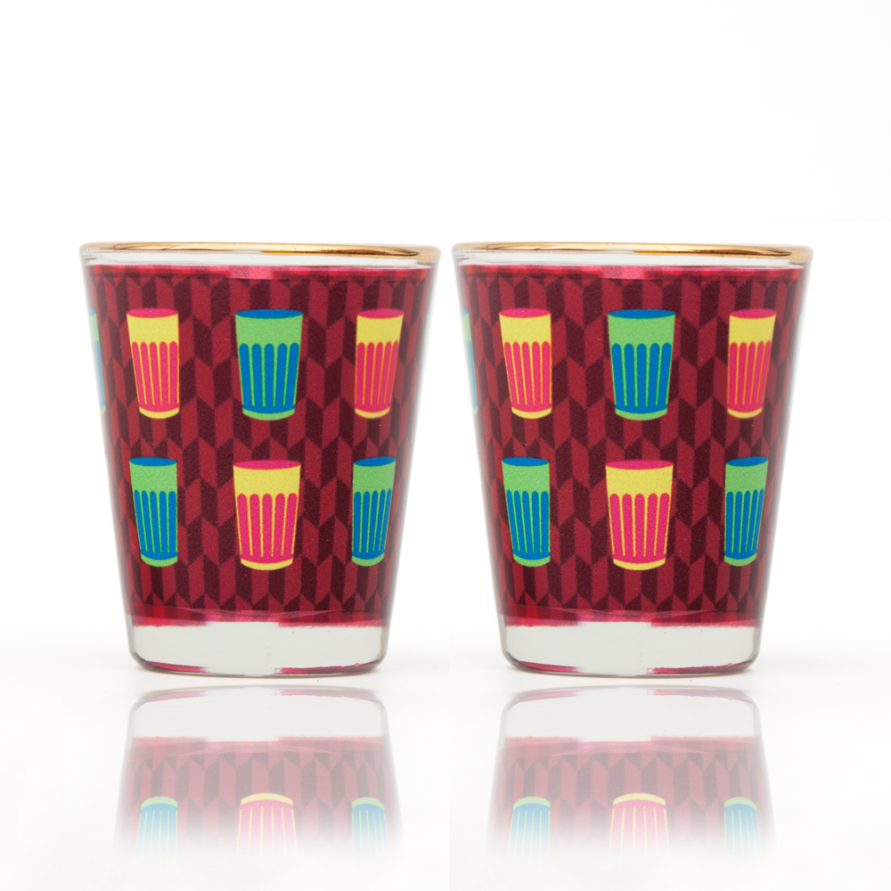 Cutting Chai Shot Glass