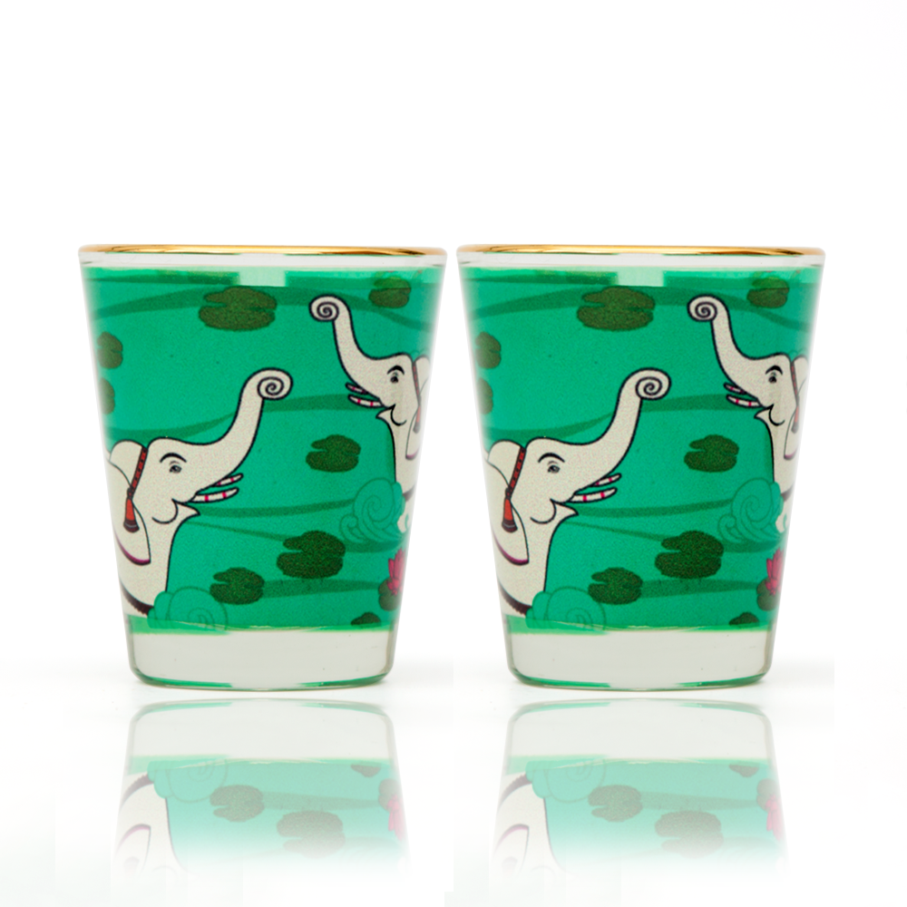 Elephant Bath Shot Glass