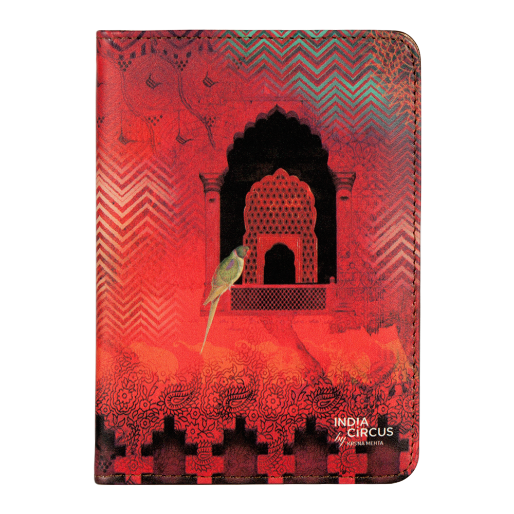 Parrot and Palace Passport Cover