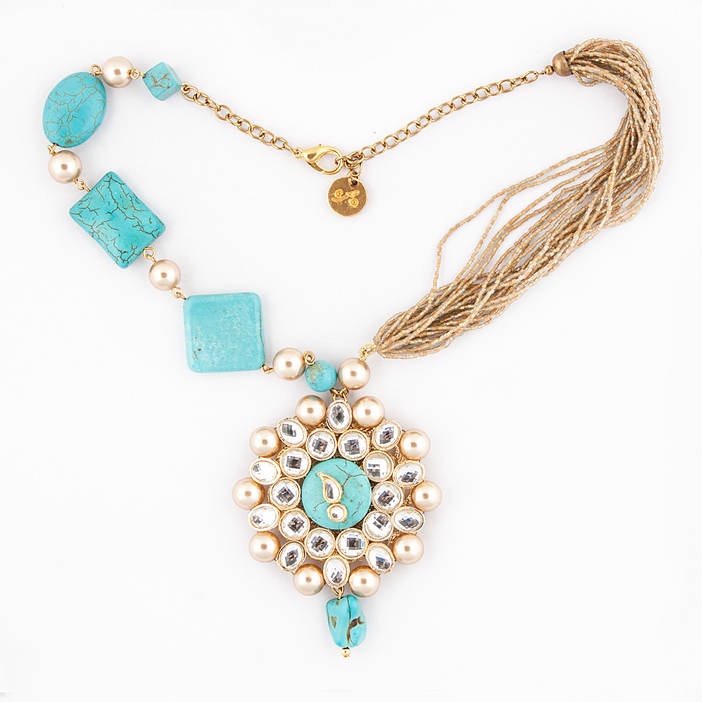 Kundan Stones Necklace