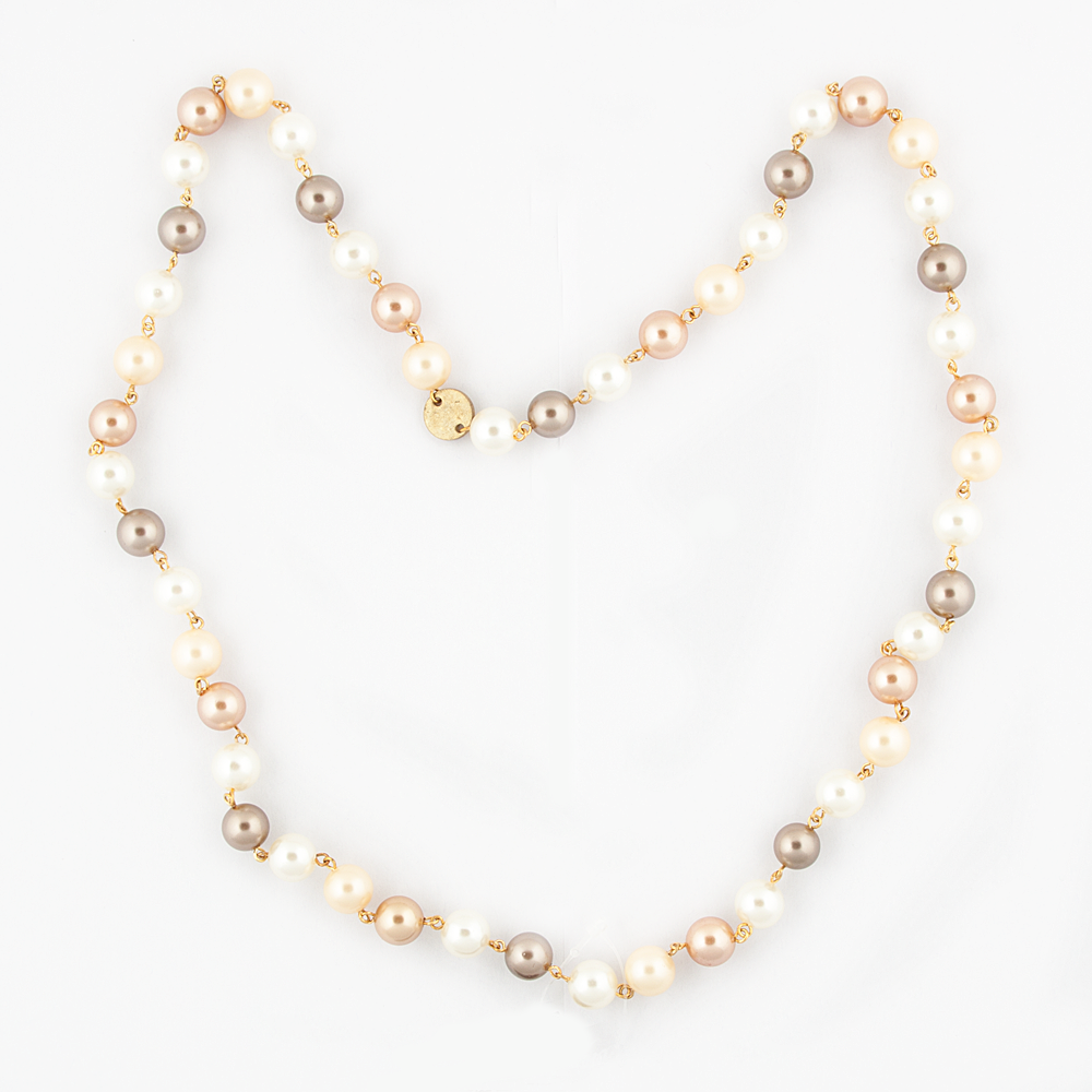 Golden - Bronze Pearl Necklace