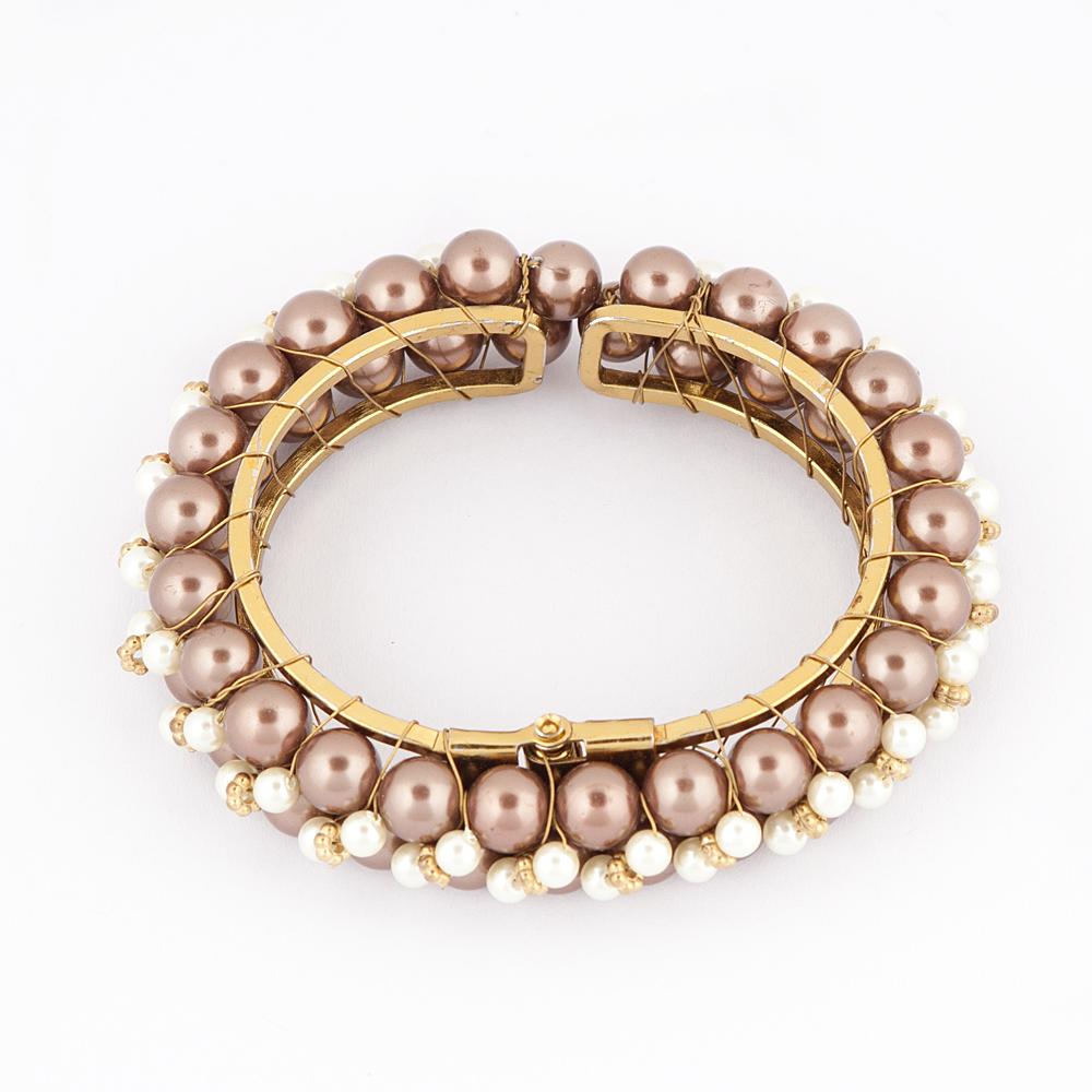 Sworovaski Pearl Bracelet