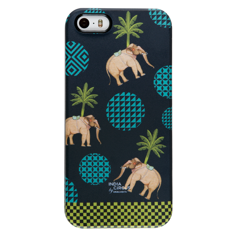 Elephant Walk iPhone 5/5s Cover