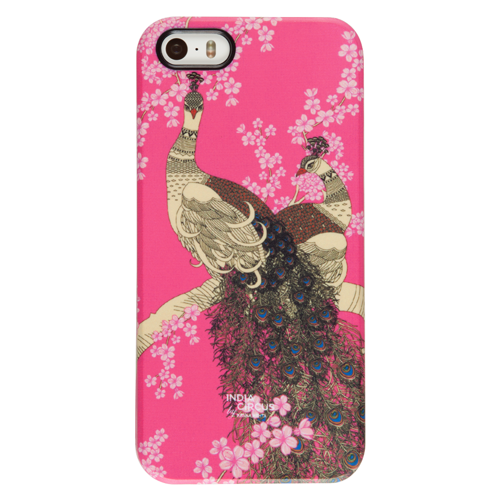 Peacock Love iPhone 5/5s Cover