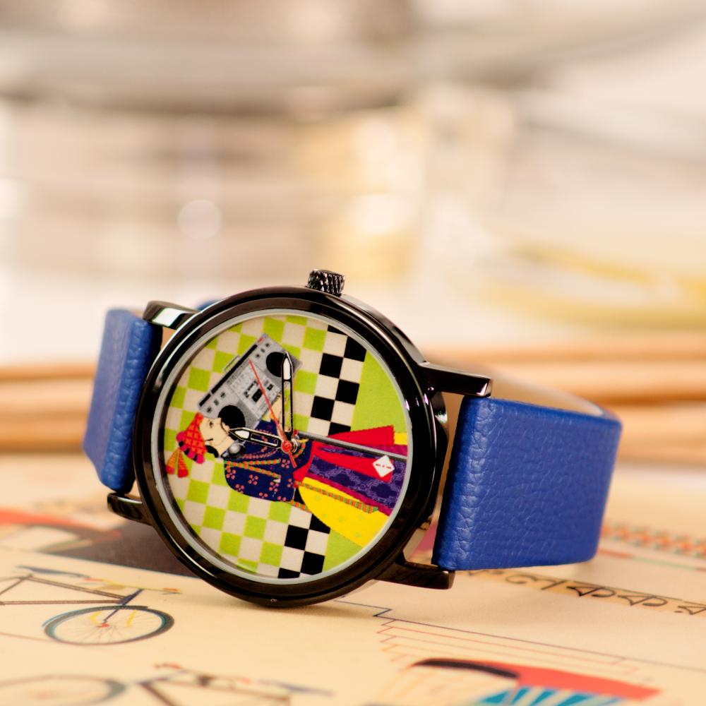 Retro Funk Wrist Watch