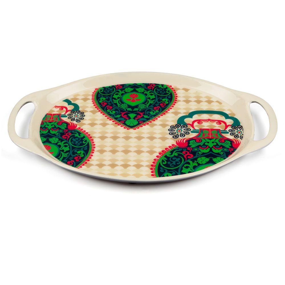 Floral Flavours Oval Serving Platter