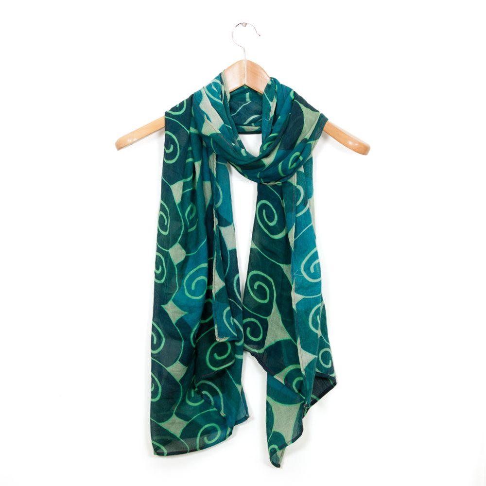 Symmetrical Swirls Stole