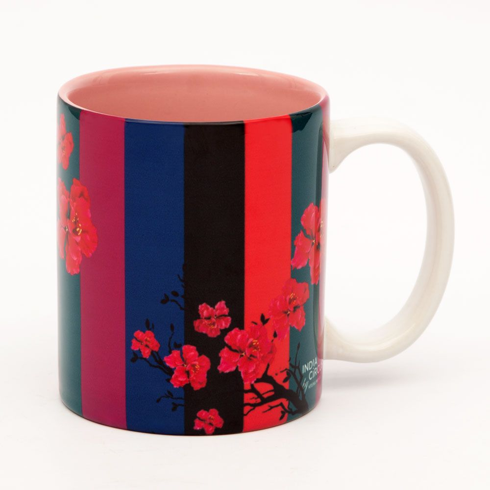 Floral Trail Ceramic Mug