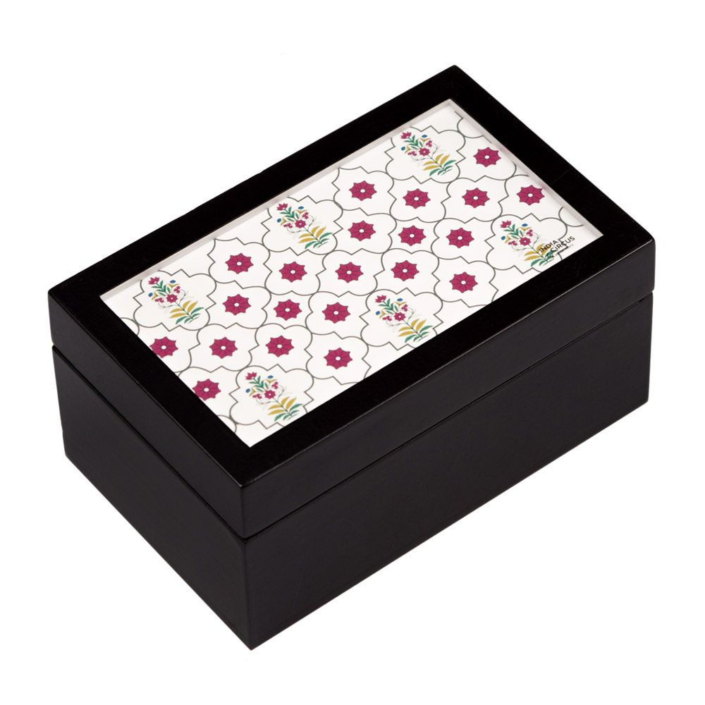 Flowers and Ferns Small Storage Box