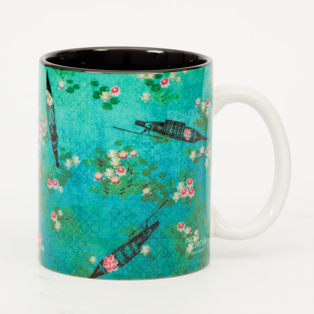 Boats and Flowers Mug