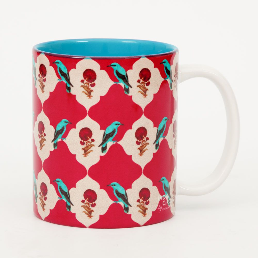 Interlaced Bouquet Mug