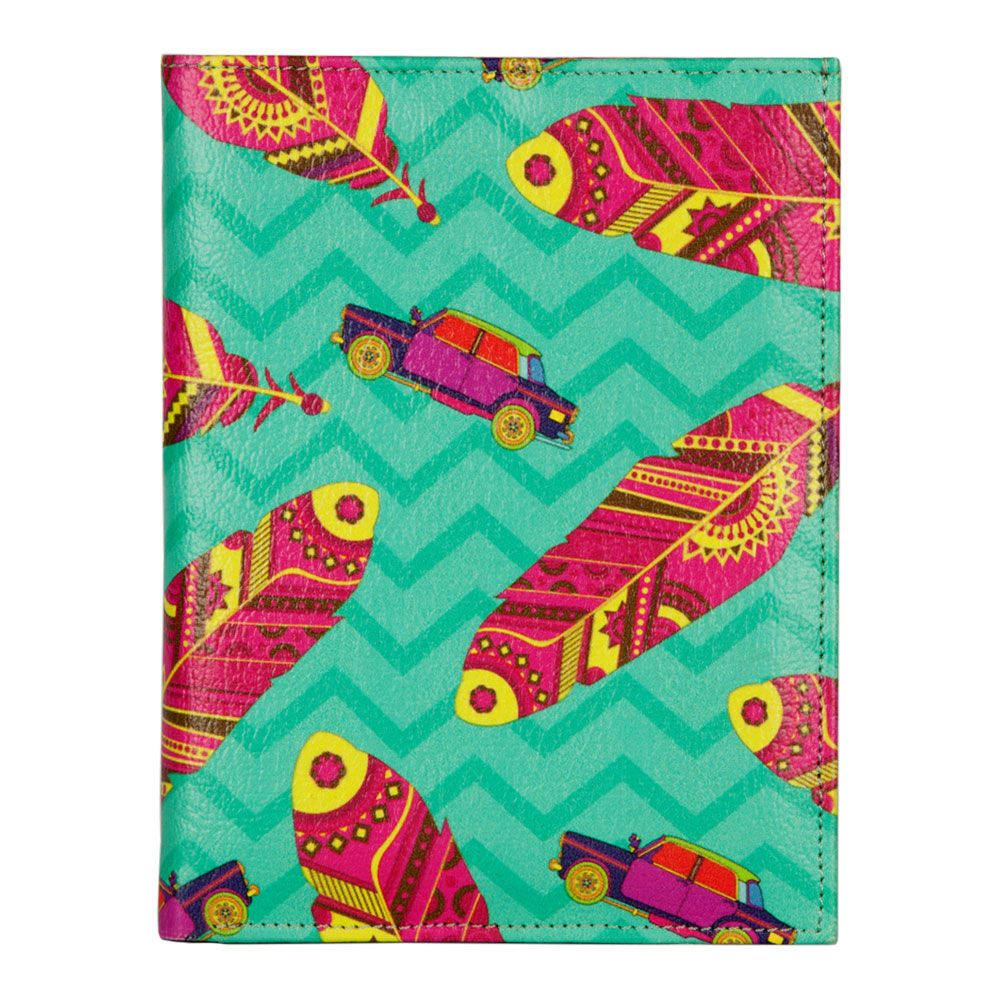 Funky Plume Passport Cover