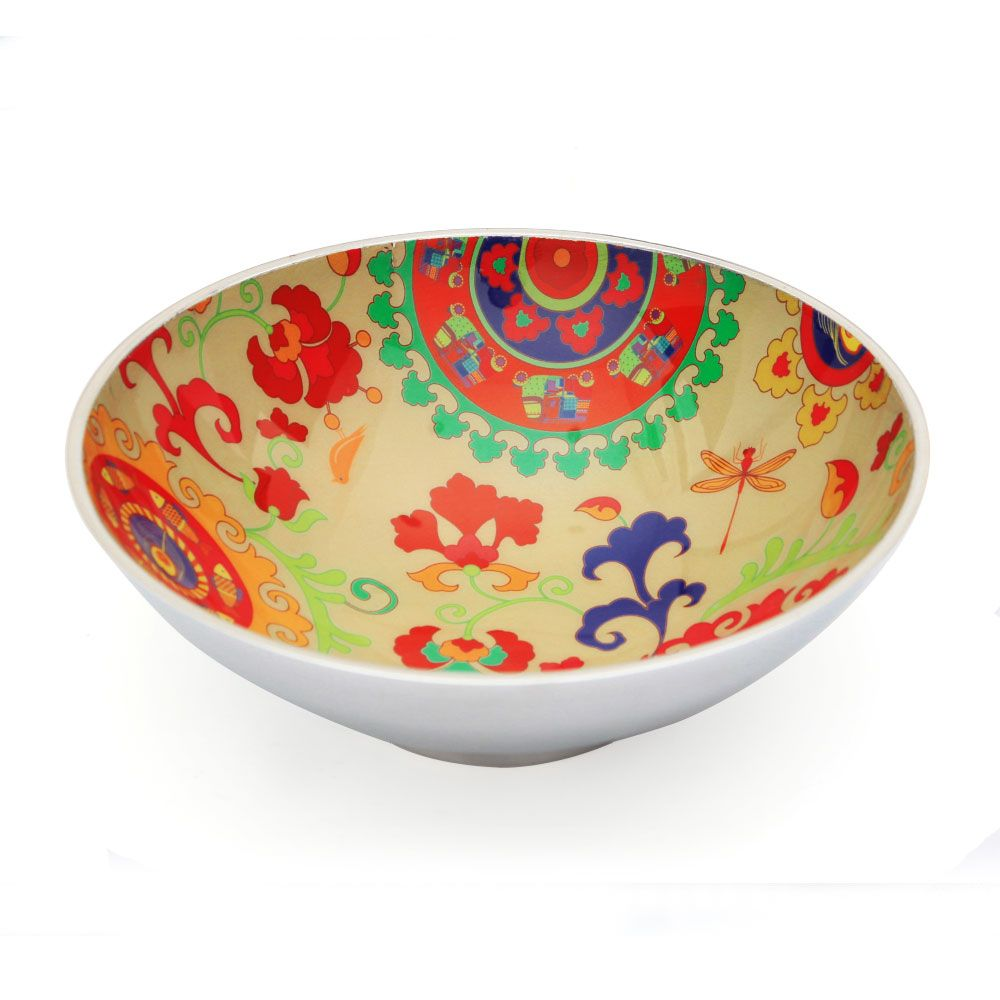 Funky Filigree Aluminium Serving Bowl