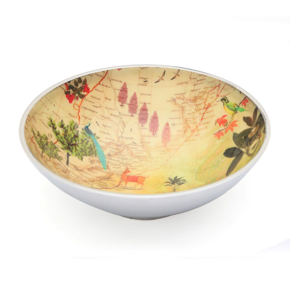 Wanderlust Aluminium Serving Bowl