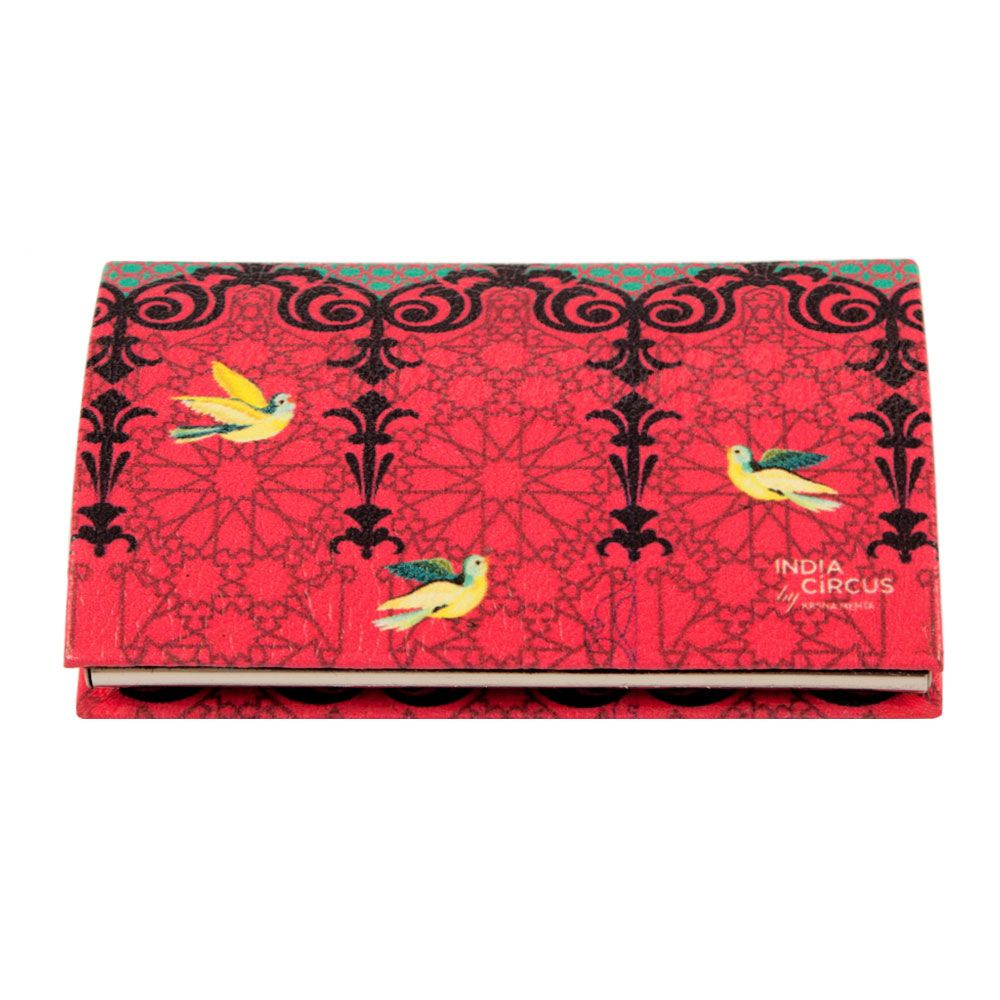 Flight of Birds Visiting Card Holder