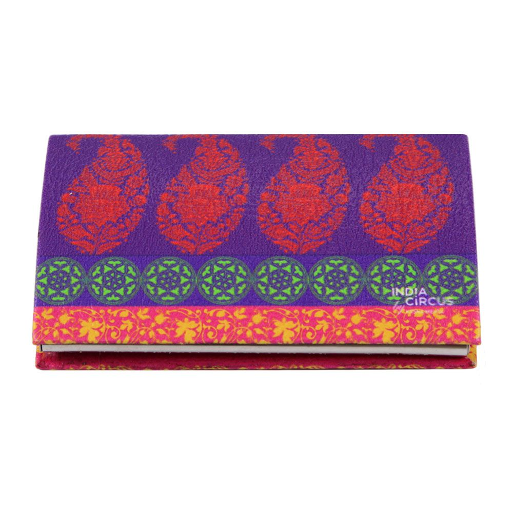 Motif Cachemire Visiting Card Holder