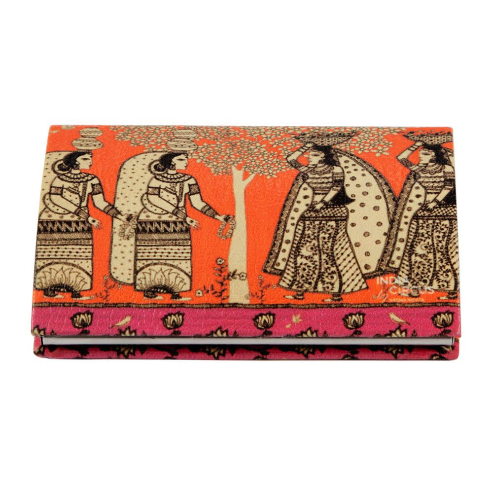 Enchanting Maidens Visiting Card Holder