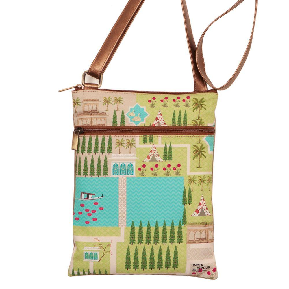 Maze Garden Sling Bag