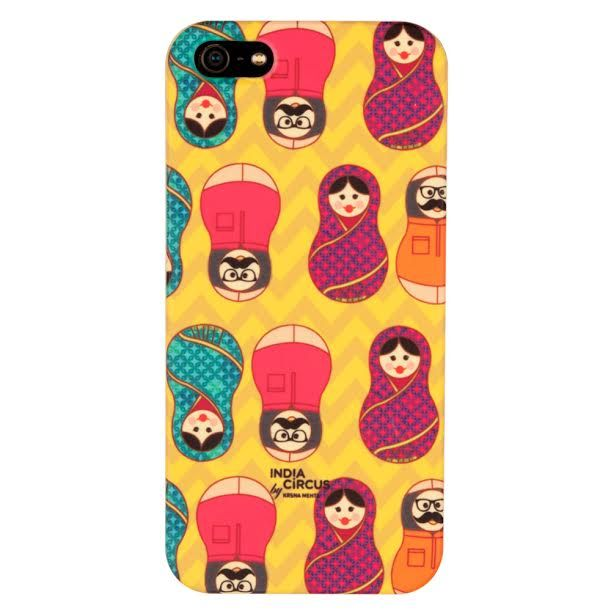 Desi Matryoshka Dolls iPhone 5/5s Cover