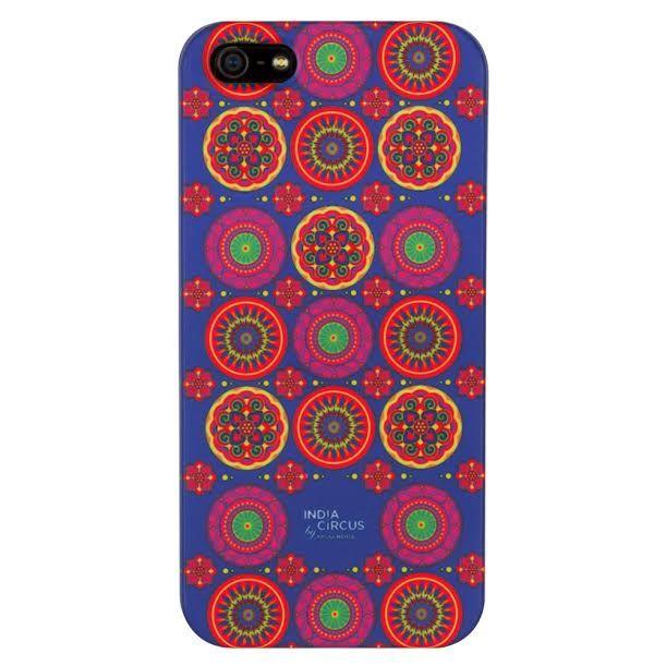 Circular Chaos iPhone 5/5s Cover