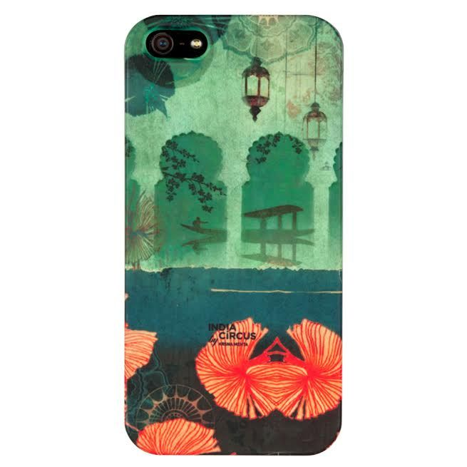Leaves and Lanterns iPhone 5/5s Cover