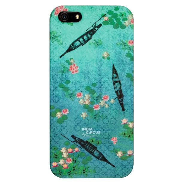 Boats and Flowers iPhone 5/5s Cover