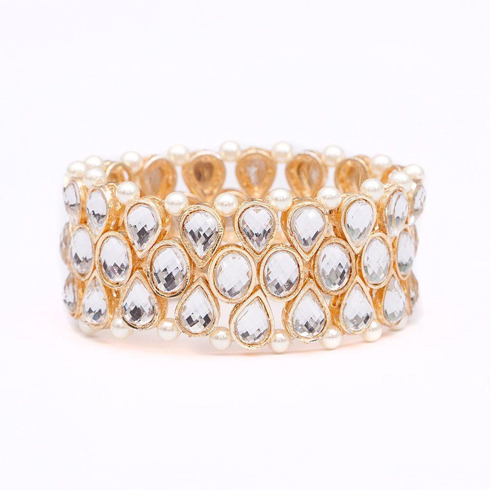 Pearly stonessence bracelet