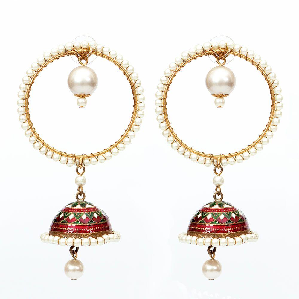 Classic Jhumka earrings
