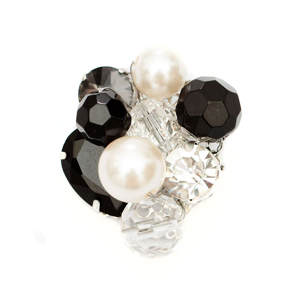 Men of Pearl brooch