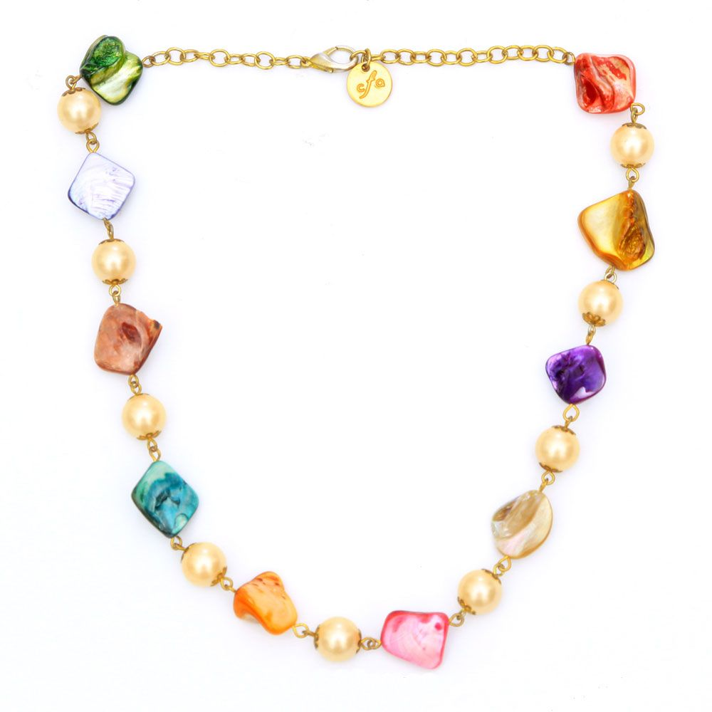 Color splash necklace