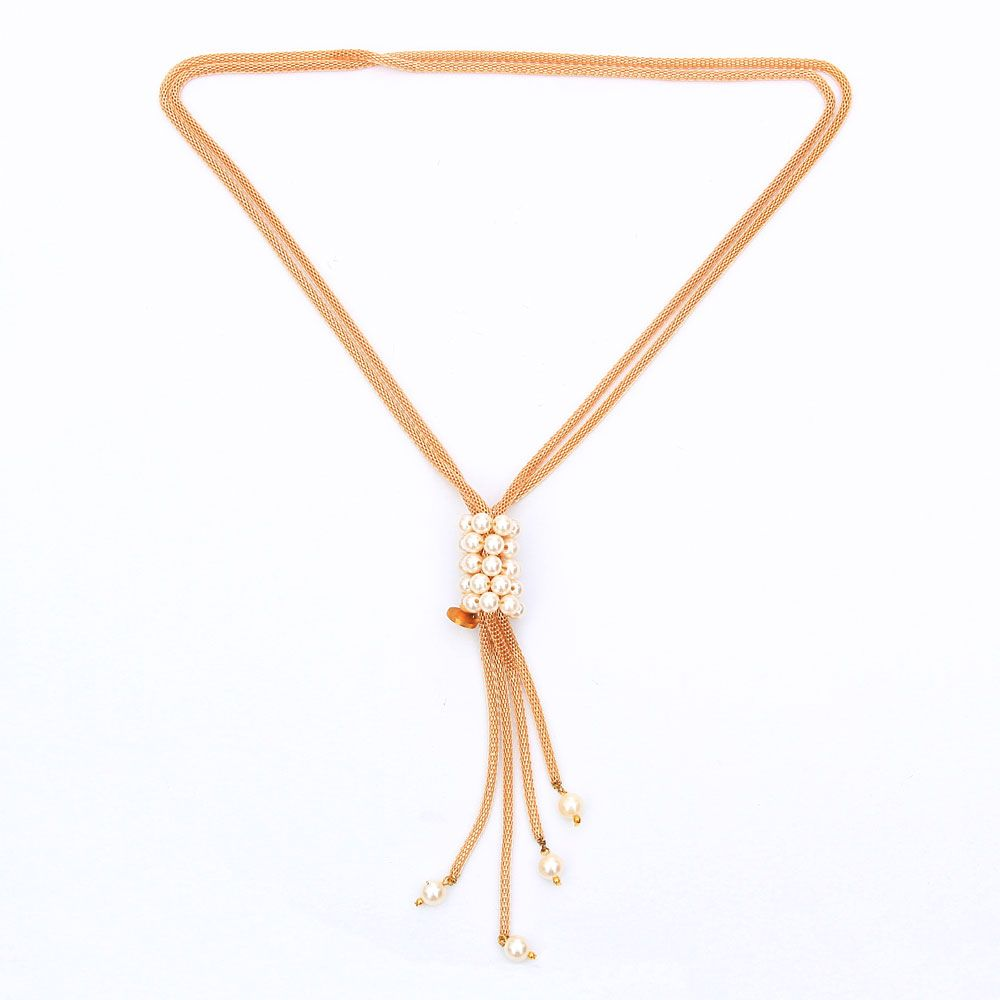 Golden glory necklace
