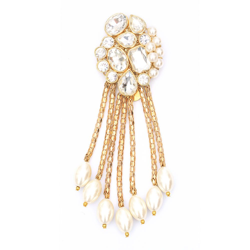 Love of kundan brooch