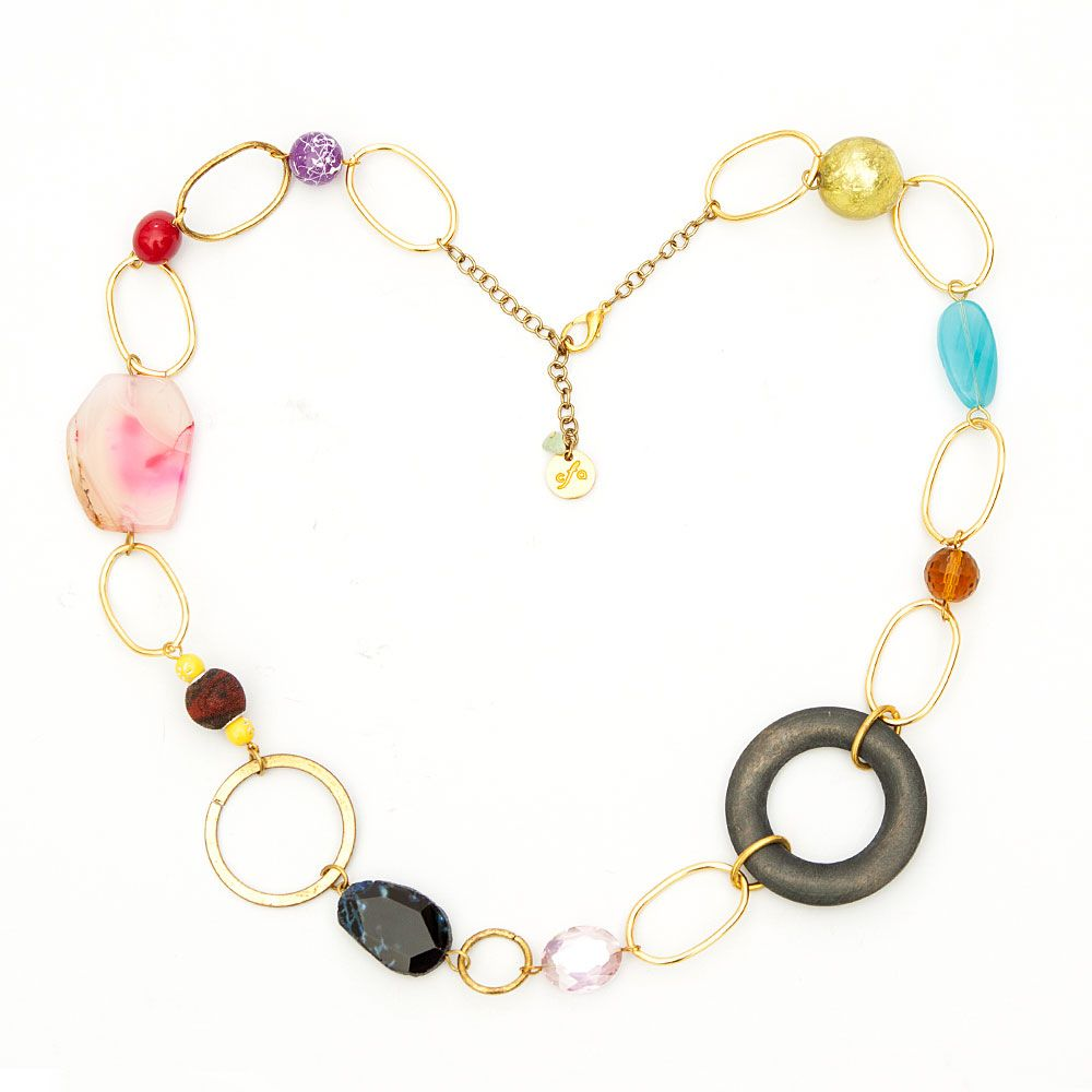 Color funk necklace