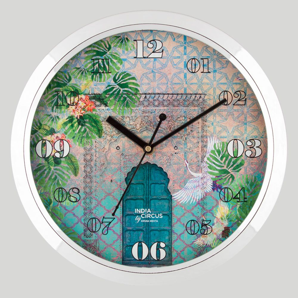Mysterious Doorway Wall Clock