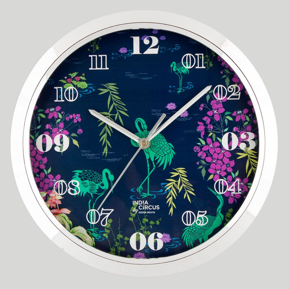Midnight Lagoon Wall Clock