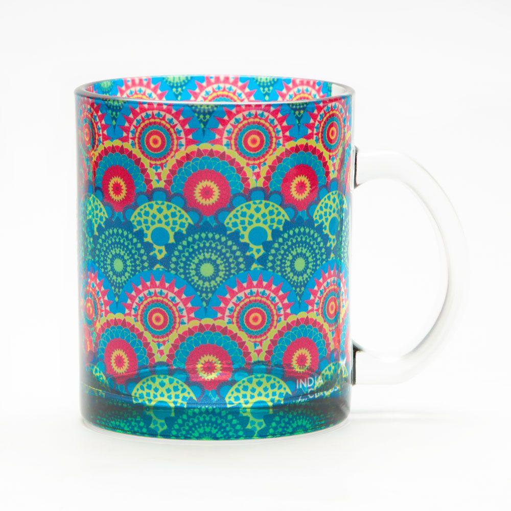 Ecliptic Lei Glass Mug
