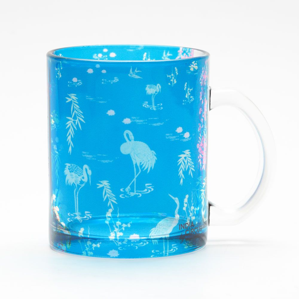 Midnight Lagoon Glass Mug