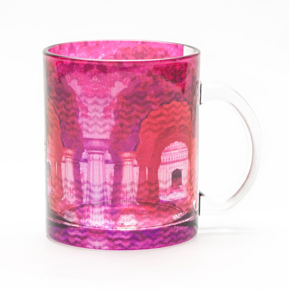 Doorway to Heaven Glass Mug