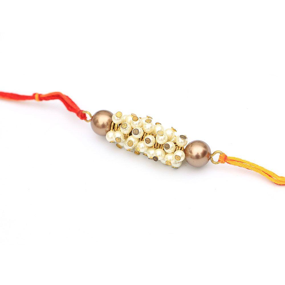 Bunch of Pearls Rakhi