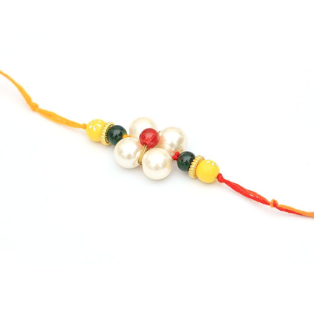 Pretty Pearls Rakhi