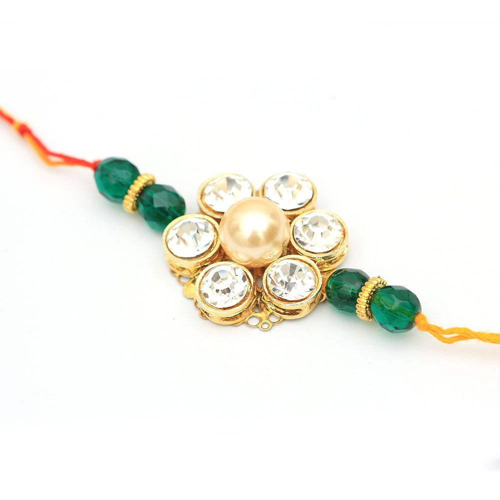 Stone and Jade Rakhi