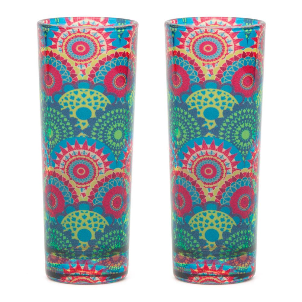 Ecliptic Lei  Shot Glasses (Set of 2)