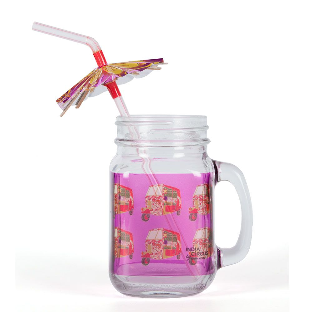 Auto Tripping Mason Glass Jar