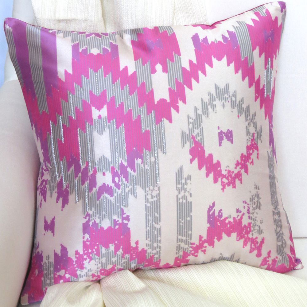Ikat Fantasy cushion cover