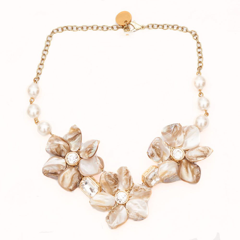 Blooming Flowers Necklace